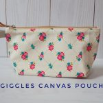 Giggles Canvas pouch